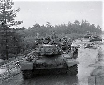 1961 SSV Esk 103 Verkbat 14. Duitse M48 tanks Inzender W Kunst
