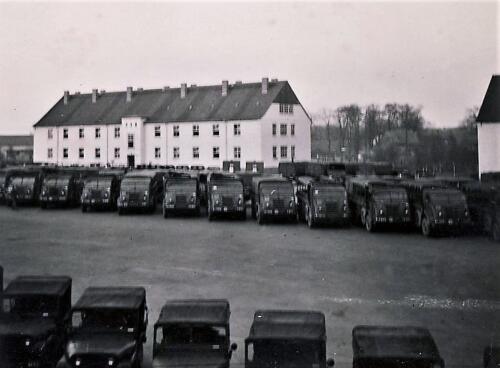 1961 SSV Esk 103 Verkbat 4. Opgesteld in Hohne. Inzender W Kunst