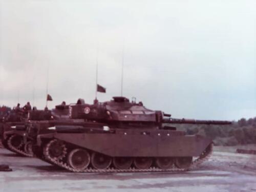 1963 1964 103 Verkbat Schietserie met o.a. Centurion tank. Inz. Jan Baggermans 1