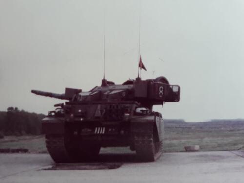 1963 1964 103 Verkbat Schietserie met o.a. Centurion tank. Inz. Jan Baggermans 2
