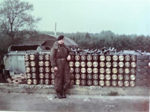 1963 1964 103 Verkbat Schietserie met o.a. Centurion tank. Inz. Jan Baggermans 4