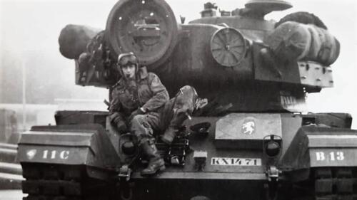 1963 1964 Beelden tankbat Centurion tijdperk. Inz Marien Hoorn 10