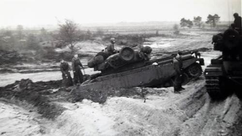 1963 1964 Beelden tankbat Centurion tijdperk. Inz Marien Hoorn 12