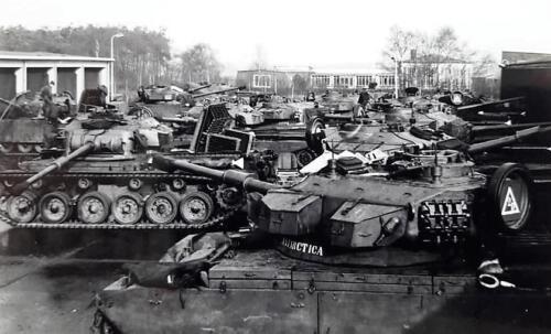 1963 1964 Beelden tankbat Centurion tijdperk. Inz Marien Hoorn 13