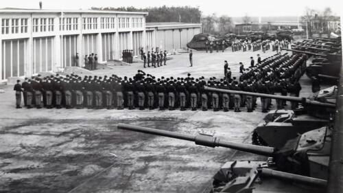 1963 1964 Beelden tankbat Centurion tijdperk. Inz Marien Hoorn 5