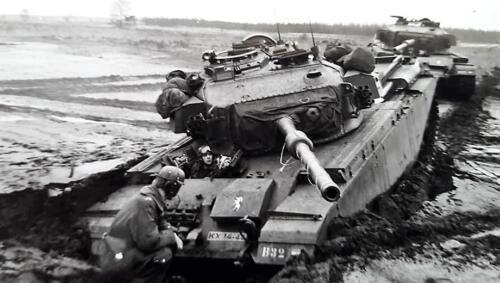 1963 1964 Beelden tankbat Centurion tijdperk. Inz Marien Hoorn 7