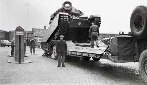 1963 1964 Beelden tankbat Centurion tijdperk. Inz Marien Hoorn 8