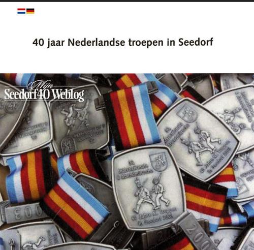 1963 2003 40 jaar Nederlandse troepen in Seedorf Blz. 01