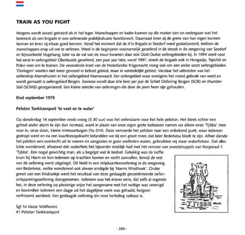 1963 2003 40 jaar Nederlandse troepen in Seedorf Blz. 104