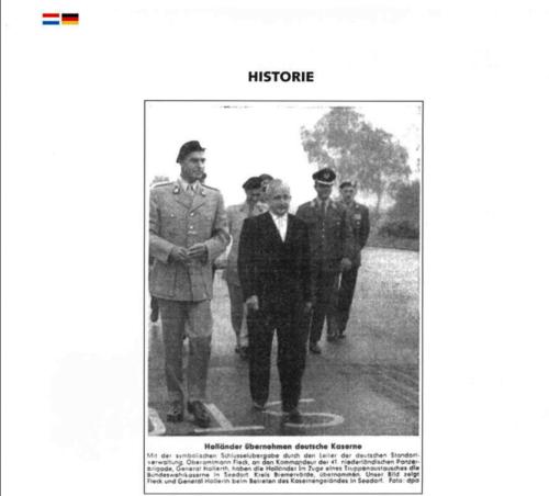 1963 2003 40 jaar Nederlandse troepen in Seedorf Blz. 11
