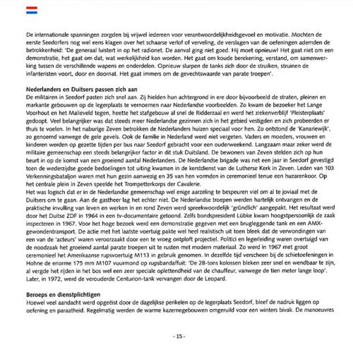 1963 2003 40 jaar Nederlandse troepen in Seedorf Blz. 15