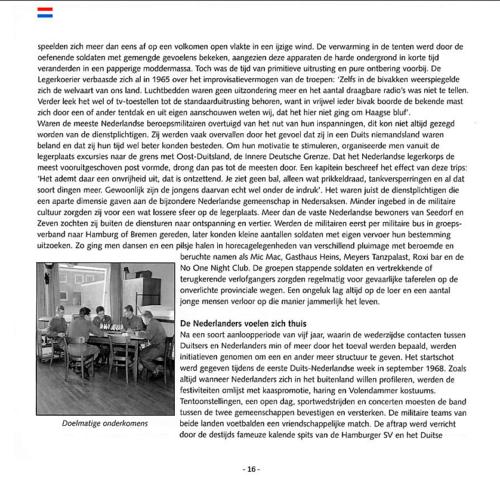 1963 2003 40 jaar Nederlandse troepen in Seedorf Blz. 16