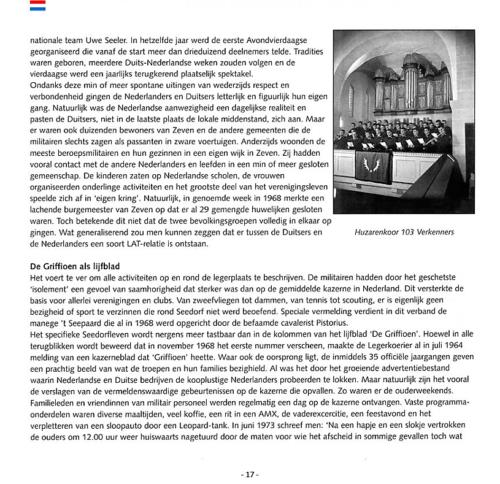 1963 2003 40 jaar Nederlandse troepen in Seedorf Blz. 17