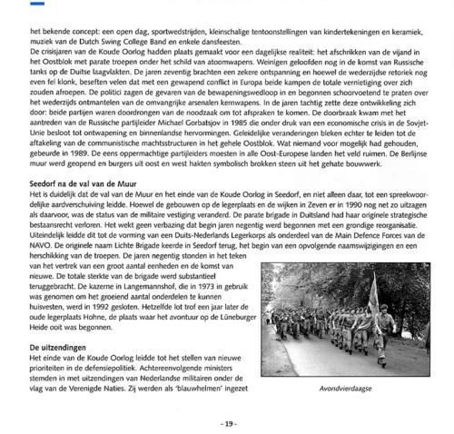 1963 2003 40 jaar Nederlandse troepen in Seedorf Blz. 19