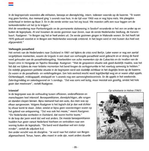 1963 2003 40 jaar Nederlandse troepen in Seedorf Blz. 35