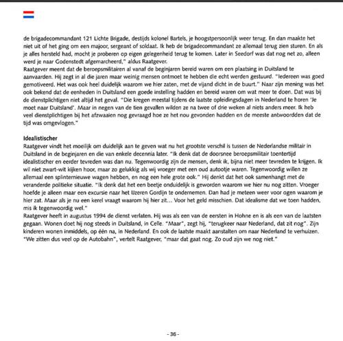 1963 2003 40 jaar Nederlandse troepen in Seedorf Blz. 36