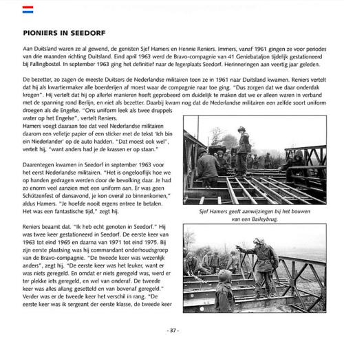 1963 2003 40 jaar Nederlandse troepen in Seedorf Blz. 37