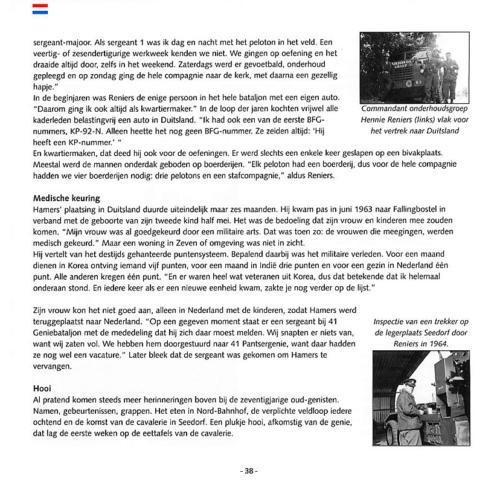 1963 2003 40 jaar Nederlandse troepen in Seedorf Blz. 38