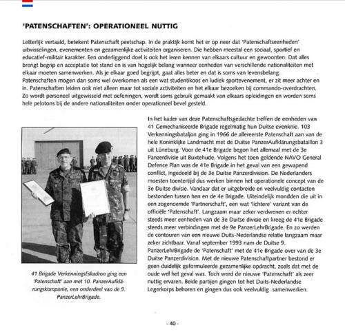 1963 2003 40 jaar Nederlandse troepen in Seedorf Blz. 40