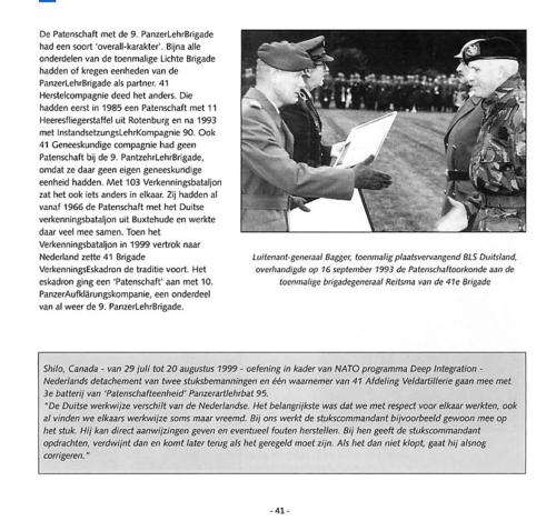 1963 2003 40 jaar Nederlandse troepen in Seedorf Blz. 41