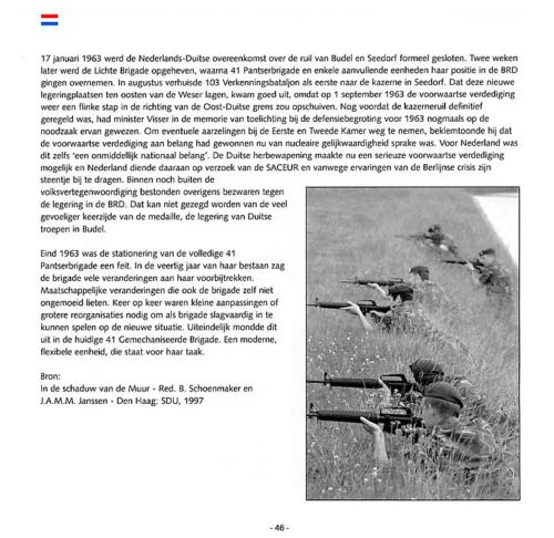 1963 2003 40 jaar Nederlandse troepen in Seedorf Blz. 46