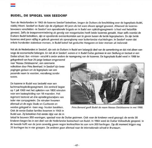 1963 2003 40 jaar Nederlandse troepen in Seedorf Blz. 47