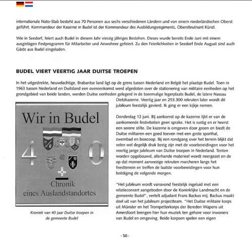 1963 2003 40 jaar Nederlandse troepen in Seedorf Blz. 50