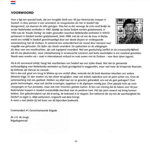 1963 2003 40 jaar Nederlandse troepen in Seedorf Blz. 06