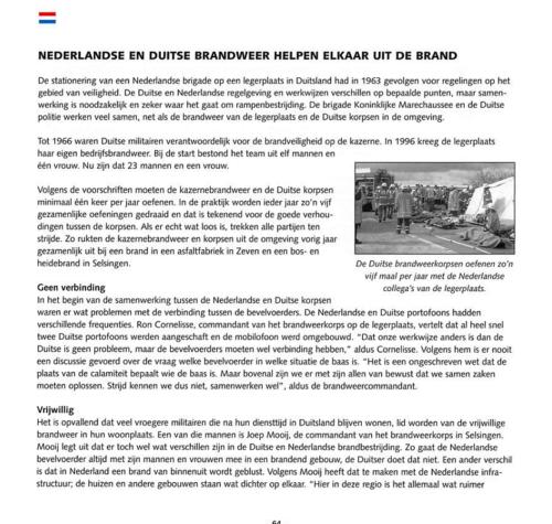 1963 2003 40 jaar Nederlandse troepen in Seedorf Blz. 64