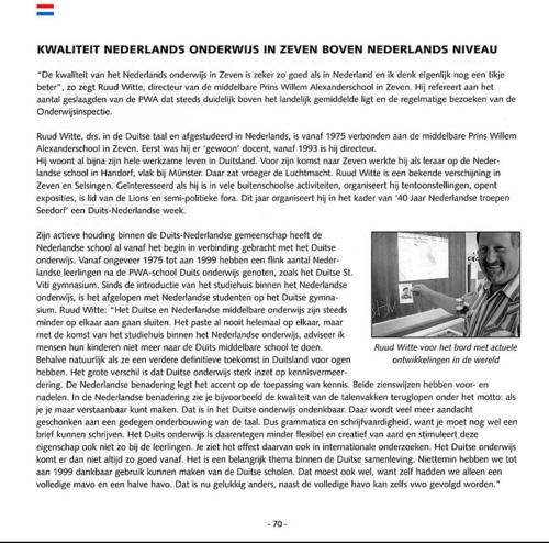 1963 2003 40 jaar Nederlandse troepen in Seedorf Blz. 70