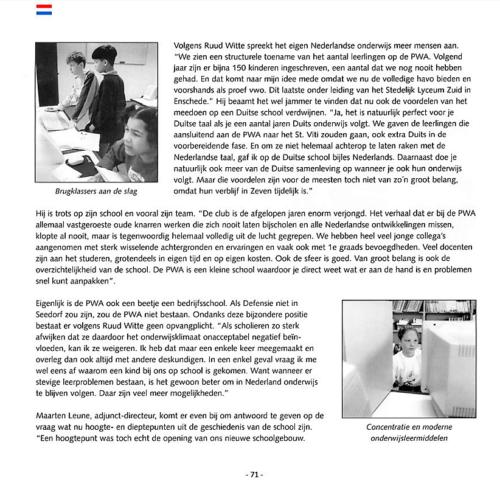 1963 2003 40 jaar Nederlandse troepen in Seedorf Blz. 71