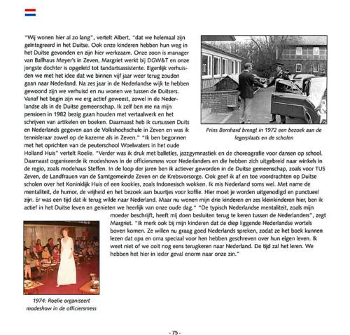 1963 2003 40 jaar Nederlandse troepen in Seedorf Blz. 75