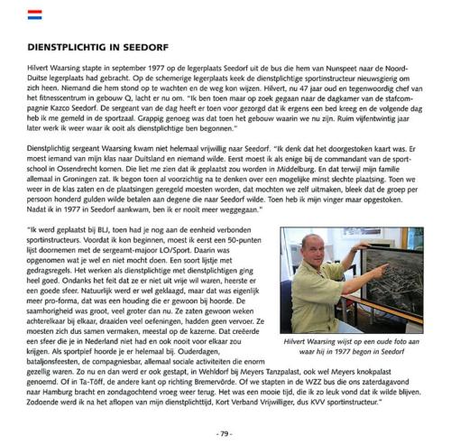 1963 2003 40 jaar Nederlandse troepen in Seedorf Blz. 79