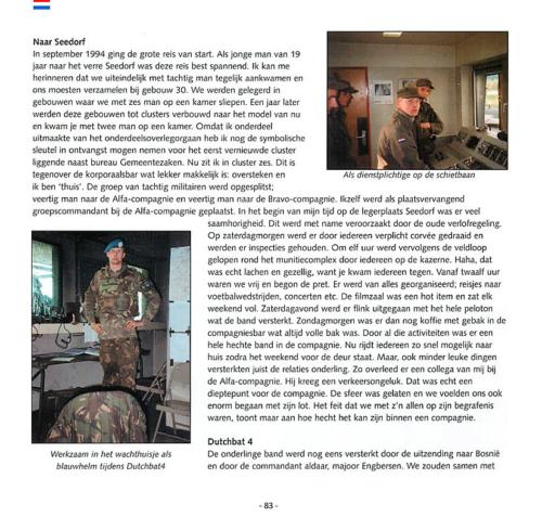 1963 2003 40 jaar Nederlandse troepen in Seedorf Blz. 83