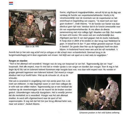 1963 2003 40 jaar Nederlandse troepen in Seedorf Blz. 85