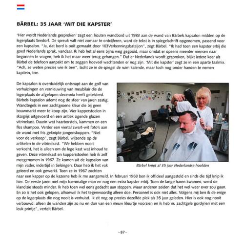 1963 2003 40 jaar Nederlandse troepen in Seedorf Blz. 87
