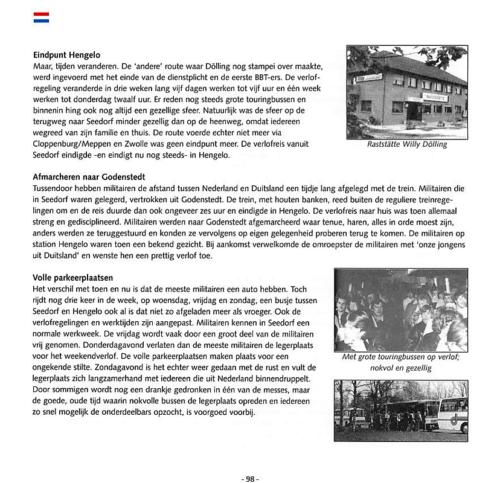1963 2003 40 jaar Nederlandse troepen in Seedorf Blz. 98