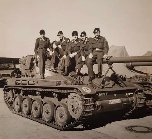 1963 B Esk Lichting 63 2 103 Verkbat. De B 15 de AMX tank van de OPC