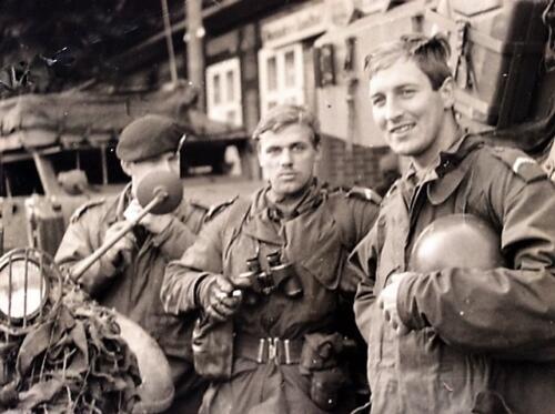 1965 1966 03 B eskadron 1e pel 103 Verkbat Oefening Inz. Wmr Jan Langevoord