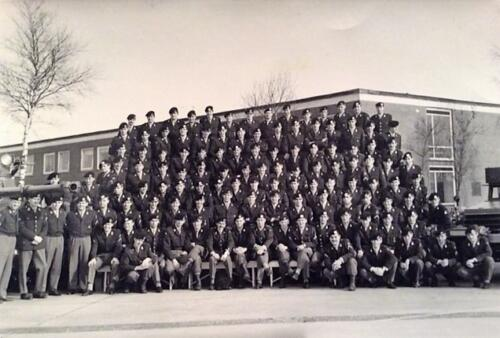1965 1966 B Esk 103 Verkbat o.a. Ritm v lingen Elnt Eleveld Owi Kernebeek Inz J. Langevoord