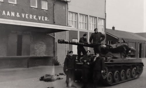 1965 1966 B Esk li 65 4 103 Verkbat AMX rijopleiding NL Inz J. Langevoord