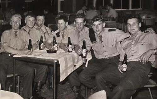 1965 A Esk 103 Verkbat Kantine Harskamp Inz. Willen den Dunnen