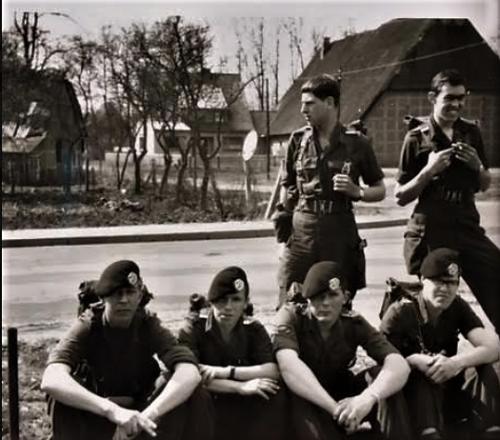 1965 A Esk 103 Verkbat Oef omgeving seedorf Inz. Willen den Dunnen