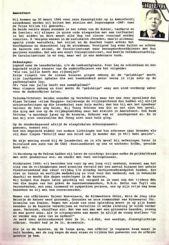 1966 03 30 A Esk 103 Verkbat Opkomst li 66 1 en 2 Willem III te Afoort. Samenstelling huz Henri van Rens 1