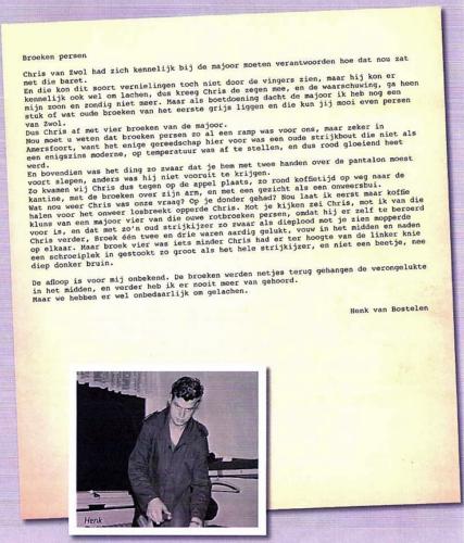 1966 03 30 A Esk 103 Verkbat Opkomst li 66 1 en 2 Willem III te Afoort. Samenstelling huz Henri van Rens 17
