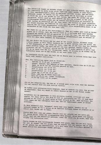 1966 03 30 A Esk 103 Verkbat Opkomst li 66 1 en 2 Willem III te Afoort. Samenstelling huz Henri van Rens 2