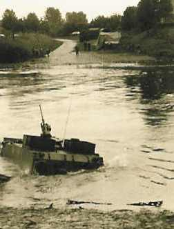 1966 1967 A Esk 103 Eskadron Kwinten Vaaroefeningen en rivieroversteek 5