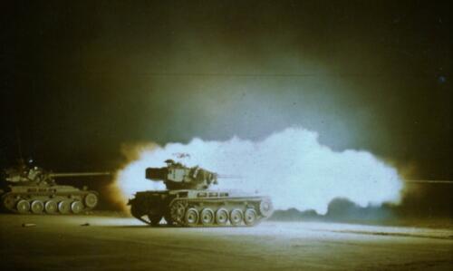 1966 1967 A Esk 103 Schietserie AMX 1