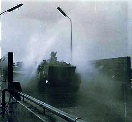 1966 1967 A Esk 103 Verkbat Grote schoonmaak van AMX en M113 serie 1