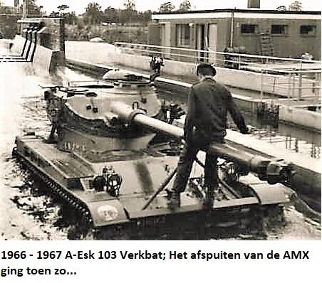 1966 1967 A Esk 103 Verkbat Grote schoonmaak van AMX en M113 serie 3